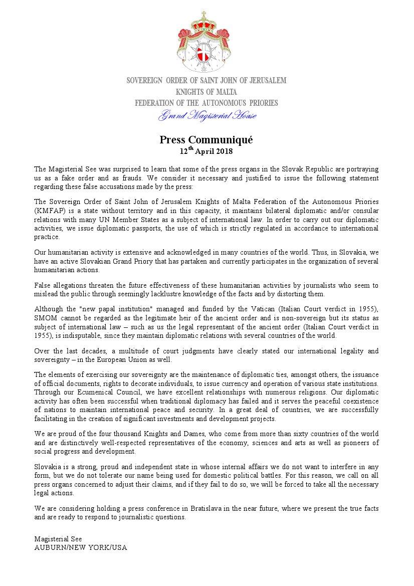 sovereign order of malta france